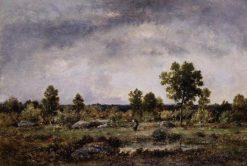 Landscape | Narcisse Dìaz de la Peña | Oil Painting