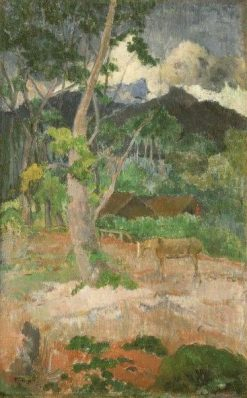 Landscape with a Horse | Paul Gauguin | Oil Painting