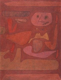 The Man of Confusion | Paul Klee | Oil Painting