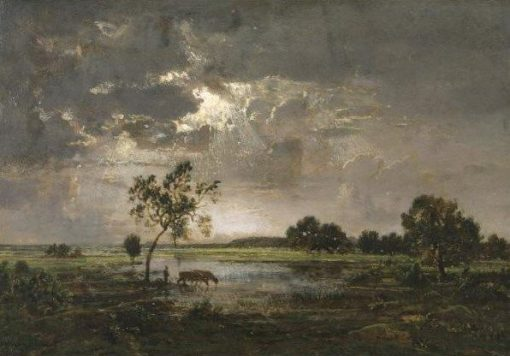 Landscape | ThEodore Rousseau | Oil Painting