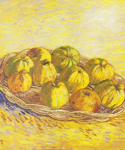 Still Life with a Basket of Apples | Vincent van Gogh | Oil Painting