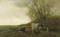 Milking Time | Willem Maris | Oil Painting