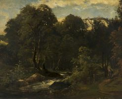 A Woody Landscape | William James Muller | Oil Painting