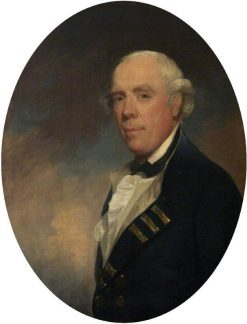 Admiral the Honourable Samuel Barrington (1729-1800) | Gilbert Stuart | Oil Painting