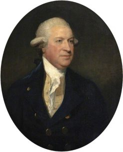 Richard Coffin (d.1796) (formerly Bennett) | Gilbert Stuart | Oil Painting