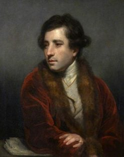 Francesco Bartolozzi (1727-1815) | Sir Joshua Reynolds | Oil Painting