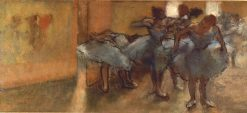 Dancers in the Foyer | Edgar Degas | Oil Painting