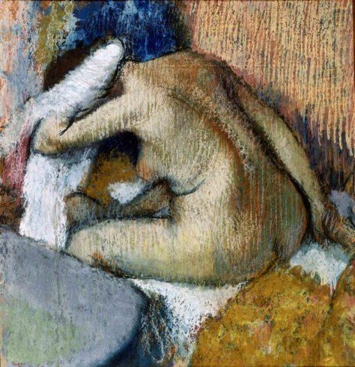 After the Bath | Edgar Degas | Oil Painting