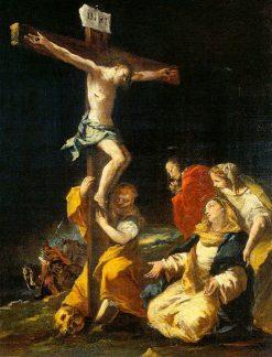 Crucifixion   Francesco Guardi   Oil Painting