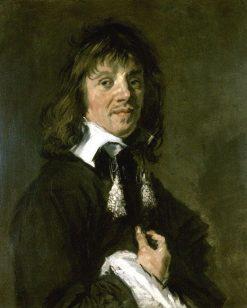 Portrait of a Man   Frans Hals   Oil Painting