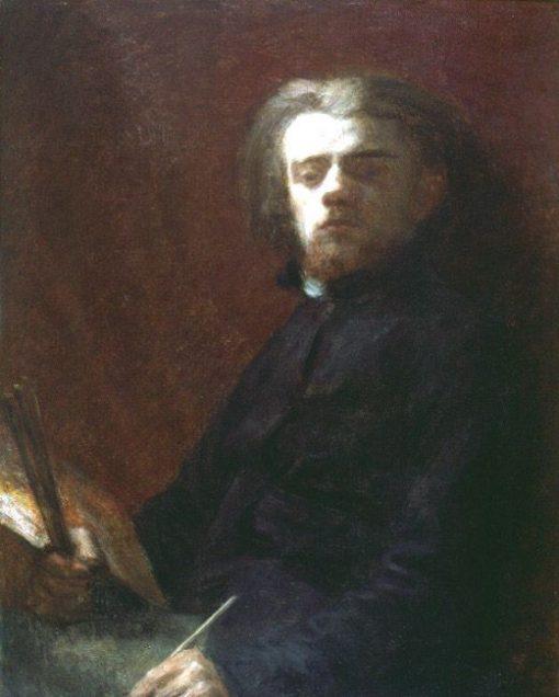 Self-Portrait   Henri Fantin Latour   Oil Painting