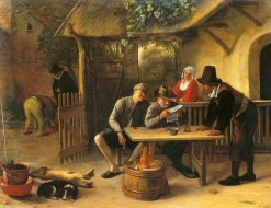 The Journal Readers | Jan Havicksz. Steen | Oil Painting