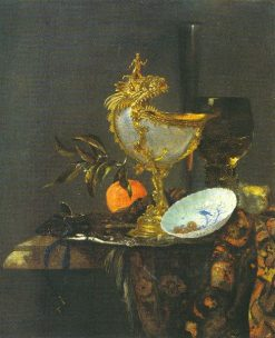 Still Life with Nautilus Cup | Willem Kalf | Oil Painting