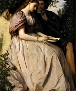 Paolo and Francesca | Anselm Feuerbach | Oil Painting