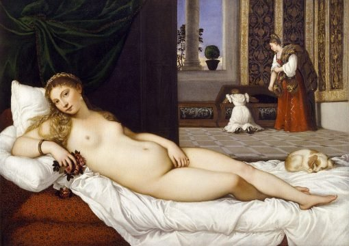 Venus of Urbino (after Titian) | Franz von Lenbach | Oil Painting