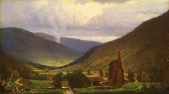 The Old Smelter(also known as Foundry) | Hugh Bolton Jones | Oil Painting