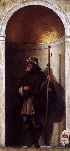 Saint Sinibaldo | Sebastiano del Piombo | Oil Painting