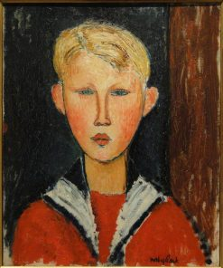 The Blue-Eyed Boy | Amedeo Modigliani | Oil Painting