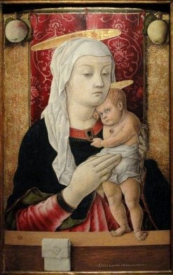 Madonna and Child | Carlo Crivelli | Oil Painting