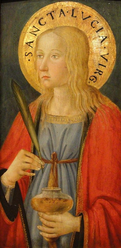 Saint Lucy | Cosimo Rosselli | Oil Painting