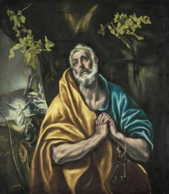 The Penitent Saint Peter | El Greco | Oil Painting