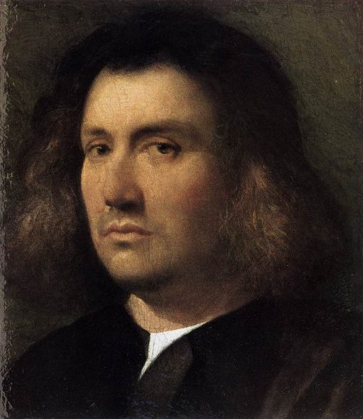 Portrait of a Man(also known as The Terris Portrait) | Giorgione | Oil Painting