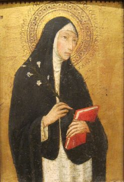 Saint Catherine of Siena | Sano di Pietro | Oil Painting
