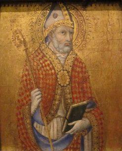 Saint Sabinus (?) | Sano di Pietro | Oil Painting