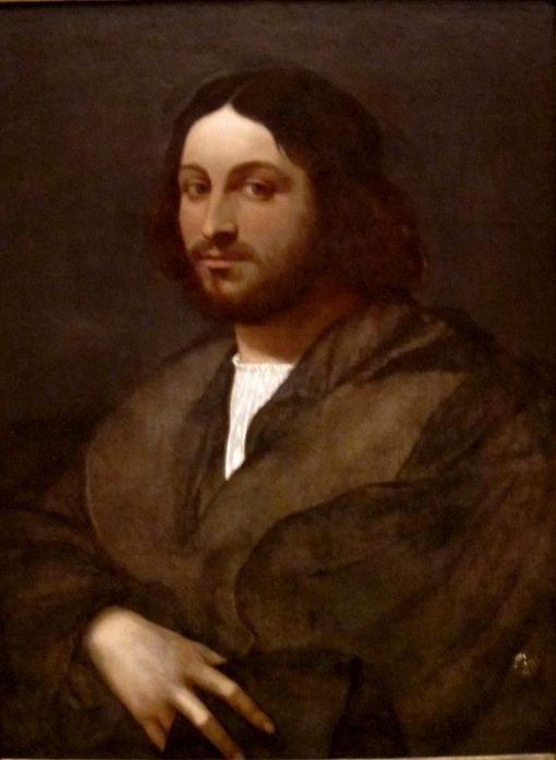Portrait of a Man   Sebastiano del Piombo   Oil Painting