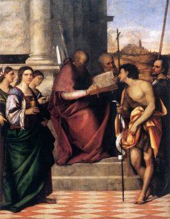 San Giovanni Crisostomo Altarpiece | Sebastiano del Piombo | Oil Painting