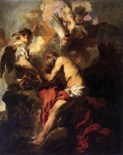 The Vision of Saint Jerome | Johann Liss | Oil Painting