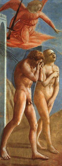 Expulsion from the Garden of Eden (Brancacci Chapel) | Masaccio | Oil Painting