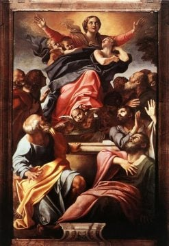 The Assumption of the Virgin Mary | Annibale Carracci | Oil Painting