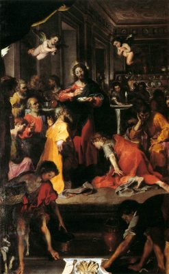 The Institution of the Eucharist   Federico Barocci   Oil Painting