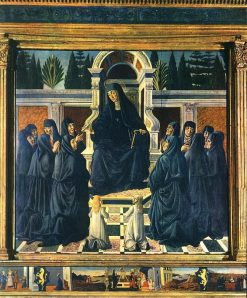 Saint Monica Altarpiece | Andrea del Verrocchio | Oil Painting