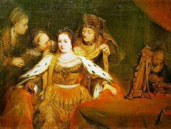 Esther Being Clad in Her Finery | Aert de Gelder | Oil Painting