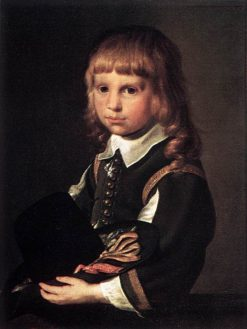 Portrait of a Child | Pieter Codde | Oil Painting