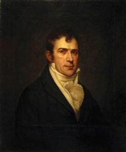 Robert Fulton (1765-1815) | Charles Willson Peale | Oil Painting