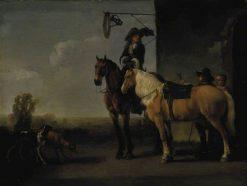 The Start | Abraham van Calraet | Oil Painting