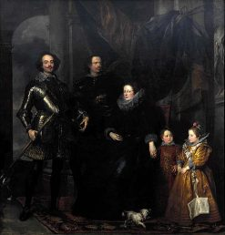 The Lomellini Family | Anthony van Dyck | Oil Painting