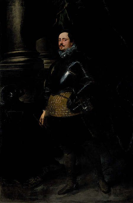 An Italian Noble | Anthony van Dyck | Oil Painting