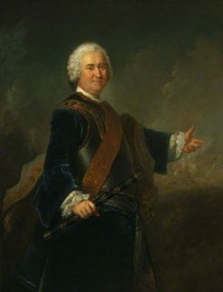 Field Marshal JamesFrancis Edward Keith | Antoine Pesne | Oil Painting