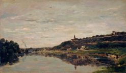 A View of Herblay | Charles Francois Daubigny | Oil Painting