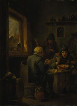 Boors Drinking | David Teniers II | Oil Painting
