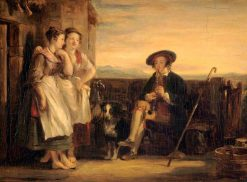 "A Scene from Ramsay's ""The Gentle Shepherd"" 