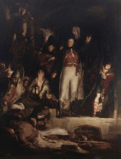 General Sir David Baird Discovering the Body of Sultan Tippoo Sahib | David Wilkie | Oil Painting