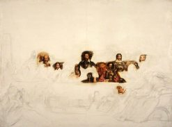 John Knox Dispensing the Sacrament at Calder House | David Wilkie | Oil Painting