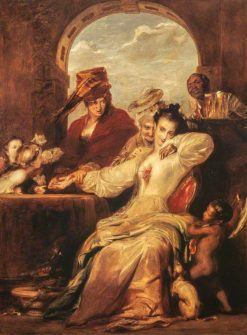 Josephine and the Fortune Teller | David Wilkie | Oil Painting