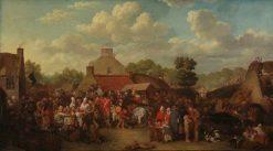 Pitlessie Fair | David Wilkie | Oil Painting