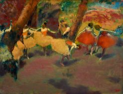 Before the Performance | Edgar Degas | Oil Painting